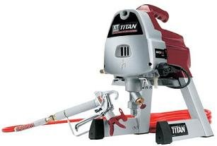titan airless paint sprayer