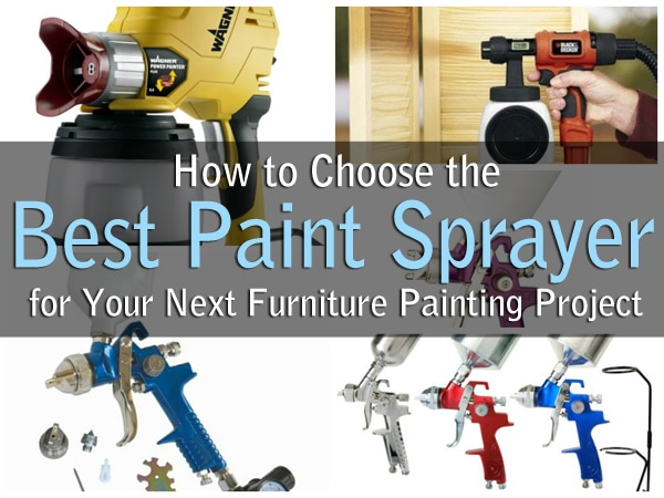 How To Choose The Best Paint Sprayer