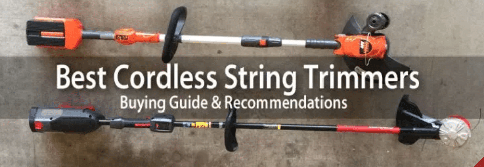 Best Cordless String Trimmer Reviews