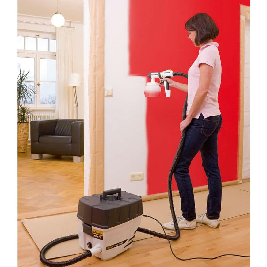 Indoor Paint Sprayer for Interior Walls